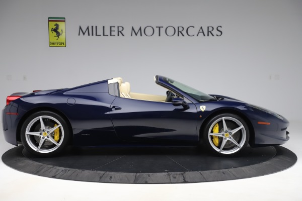 Used 2013 Ferrari 458 Spider for sale Sold at Rolls-Royce Motor Cars Greenwich in Greenwich CT 06830 9