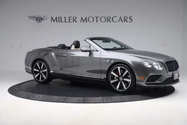Used 2016 Bentley Continental GTC V8 S for sale $135,900 at Rolls-Royce Motor Cars Greenwich in Greenwich CT 06830 10