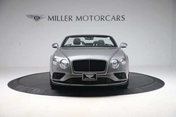 Used 2016 Bentley Continental GTC V8 S for sale $135,900 at Rolls-Royce Motor Cars Greenwich in Greenwich CT 06830 12