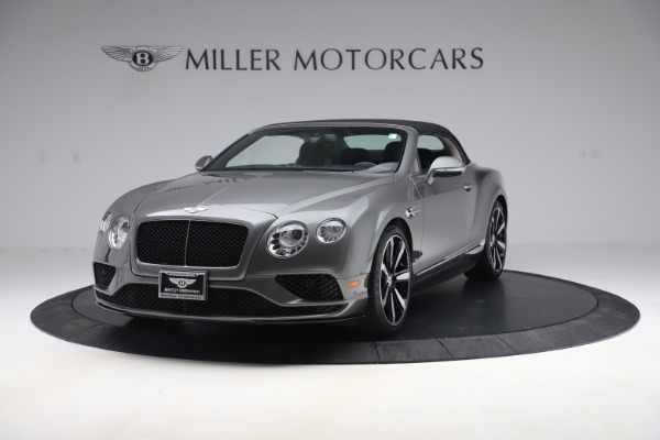 Used 2016 Bentley Continental GTC V8 S for sale $135,900 at Rolls-Royce Motor Cars Greenwich in Greenwich CT 06830 13