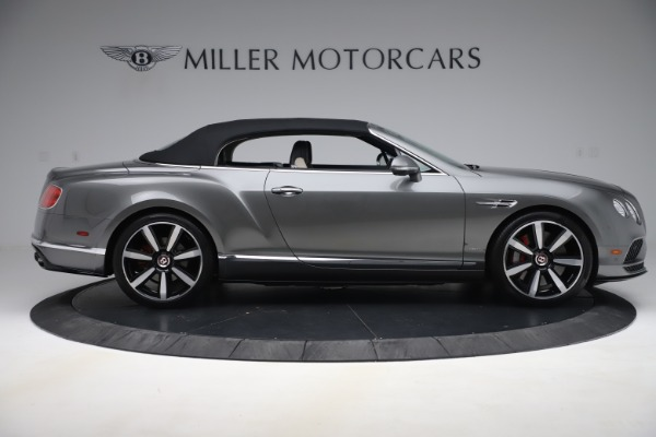 Used 2016 Bentley Continental GTC V8 S for sale $135,900 at Rolls-Royce Motor Cars Greenwich in Greenwich CT 06830 17