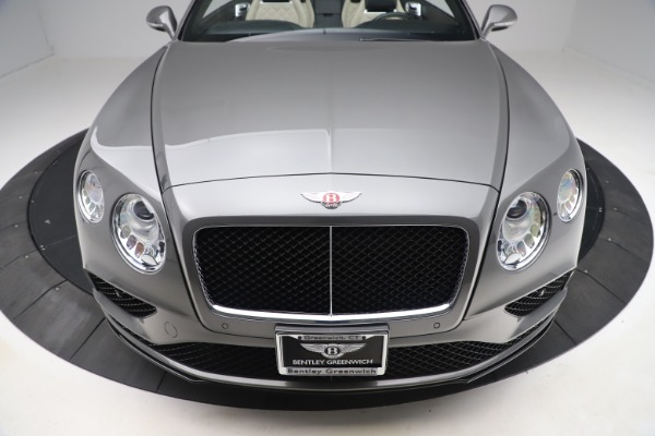 Used 2016 Bentley Continental GTC V8 S for sale $135,900 at Rolls-Royce Motor Cars Greenwich in Greenwich CT 06830 19
