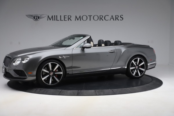 Used 2016 Bentley Continental GTC V8 S for sale $135,900 at Rolls-Royce Motor Cars Greenwich in Greenwich CT 06830 2