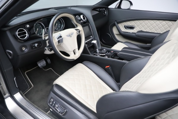Used 2016 Bentley Continental GTC V8 S for sale $135,900 at Rolls-Royce Motor Cars Greenwich in Greenwich CT 06830 23