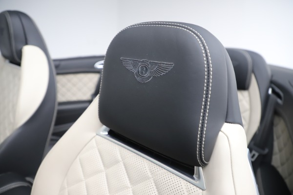 Used 2016 Bentley Continental GTC V8 S for sale $135,900 at Rolls-Royce Motor Cars Greenwich in Greenwich CT 06830 26