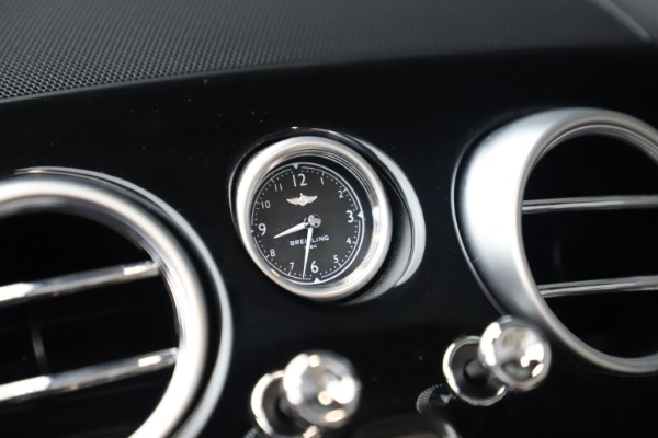 Used 2016 Bentley Continental GTC V8 S for sale $135,900 at Rolls-Royce Motor Cars Greenwich in Greenwich CT 06830 27