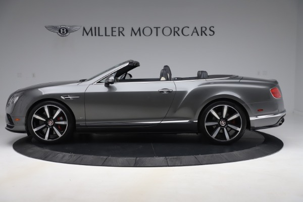 Used 2016 Bentley Continental GTC V8 S for sale $135,900 at Rolls-Royce Motor Cars Greenwich in Greenwich CT 06830 3