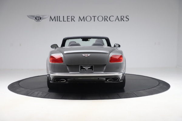 Used 2016 Bentley Continental GTC V8 S for sale $135,900 at Rolls-Royce Motor Cars Greenwich in Greenwich CT 06830 6