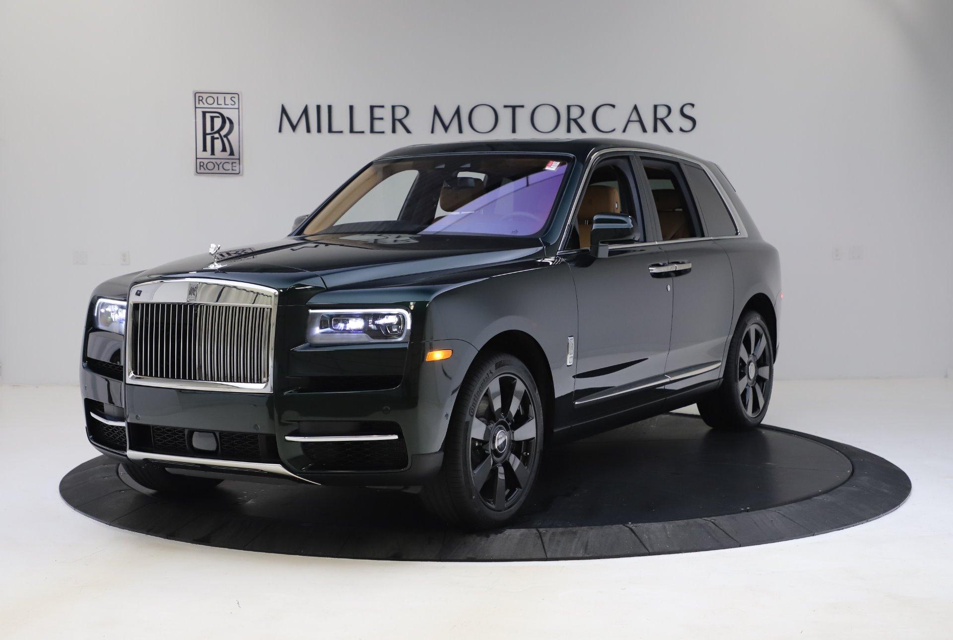 New 2020 Rolls-Royce Cullinan for sale $348,975 at Rolls-Royce Motor Cars Greenwich in Greenwich CT 06830 1