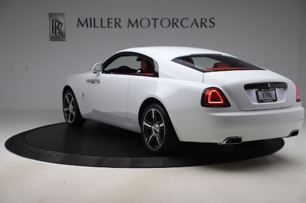 New 2020 Rolls-Royce Wraith for sale Sold at Rolls-Royce Motor Cars Greenwich in Greenwich CT 06830 4