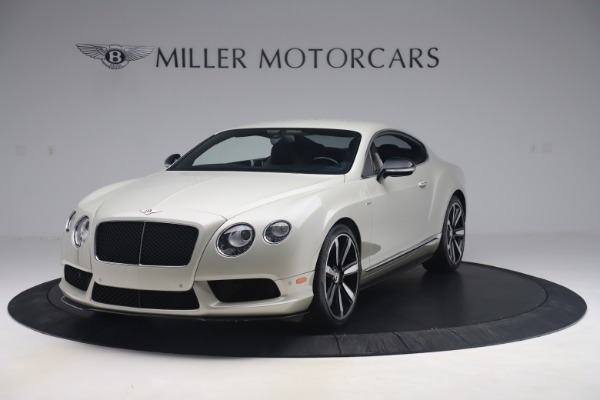 Used 2014 Bentley Continental GT V8 S for sale Sold at Rolls-Royce Motor Cars Greenwich in Greenwich CT 06830 1