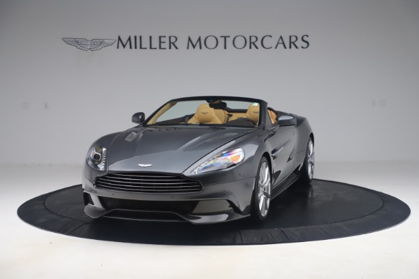 Used 2016 Aston Martin Vanquish Volante for sale Sold at Rolls-Royce Motor Cars Greenwich in Greenwich CT 06830 12