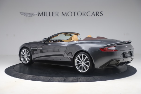 Used 2016 Aston Martin Vanquish Volante for sale Sold at Rolls-Royce Motor Cars Greenwich in Greenwich CT 06830 3