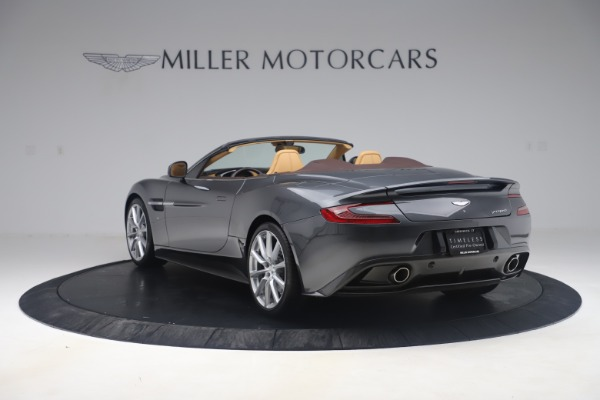 Used 2016 Aston Martin Vanquish Volante for sale Sold at Rolls-Royce Motor Cars Greenwich in Greenwich CT 06830 4