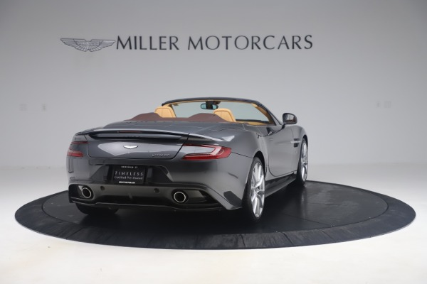 Used 2016 Aston Martin Vanquish Volante for sale Sold at Rolls-Royce Motor Cars Greenwich in Greenwich CT 06830 6