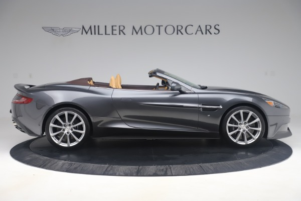 Used 2016 Aston Martin Vanquish Volante for sale Sold at Rolls-Royce Motor Cars Greenwich in Greenwich CT 06830 8