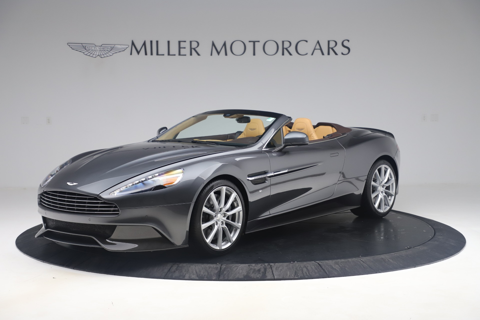 Used 2016 Aston Martin Vanquish Volante for sale Sold at Rolls-Royce Motor Cars Greenwich in Greenwich CT 06830 1