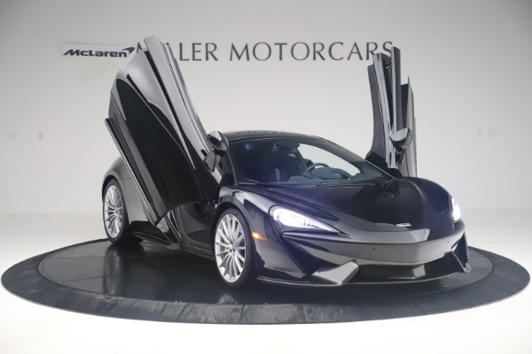 Used 2017 McLaren 570GT Coupe for sale $142,900 at Rolls-Royce Motor Cars Greenwich in Greenwich CT 06830 11
