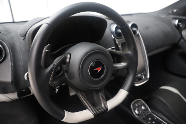 Used 2017 McLaren 570GT Coupe for sale $142,900 at Rolls-Royce Motor Cars Greenwich in Greenwich CT 06830 17