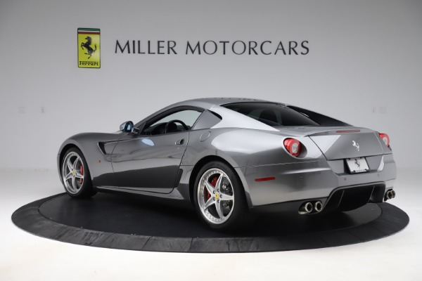 Used 2010 Ferrari 599 GTB Fiorano HGTE for sale Sold at Rolls-Royce Motor Cars Greenwich in Greenwich CT 06830 4