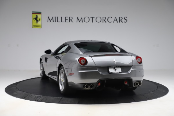 Used 2010 Ferrari 599 GTB Fiorano HGTE for sale Sold at Rolls-Royce Motor Cars Greenwich in Greenwich CT 06830 5