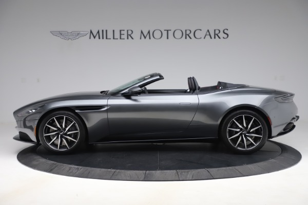 New 2020 Aston Martin DB11 Volante Convertible for sale $254,871 at Rolls-Royce Motor Cars Greenwich in Greenwich CT 06830 2