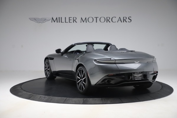 New 2020 Aston Martin DB11 Volante Convertible for sale $254,871 at Rolls-Royce Motor Cars Greenwich in Greenwich CT 06830 4