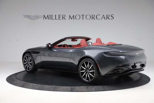 Used 2020 Aston Martin DB11 Volante Convertible for sale Sold at Rolls-Royce Motor Cars Greenwich in Greenwich CT 06830 3