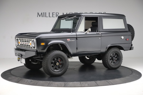 Used 1972 Ford Bronco Icon for sale Sold at Rolls-Royce Motor Cars Greenwich in Greenwich CT 06830 2