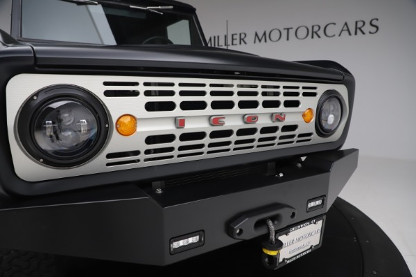 Used 1972 Ford Bronco Icon for sale Sold at Rolls-Royce Motor Cars Greenwich in Greenwich CT 06830 27