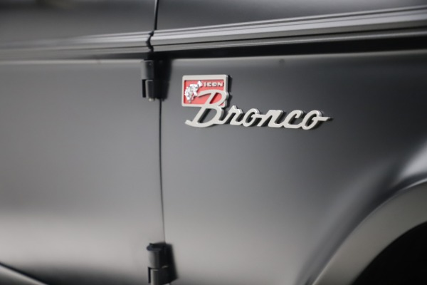 Used 1972 Ford Bronco Icon for sale Sold at Rolls-Royce Motor Cars Greenwich in Greenwich CT 06830 28