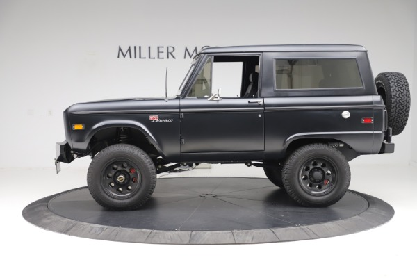 Used 1972 Ford Bronco Icon for sale Sold at Rolls-Royce Motor Cars Greenwich in Greenwich CT 06830 3