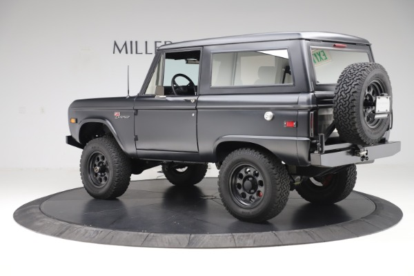 Used 1972 Ford Bronco Icon for sale Sold at Rolls-Royce Motor Cars Greenwich in Greenwich CT 06830 4