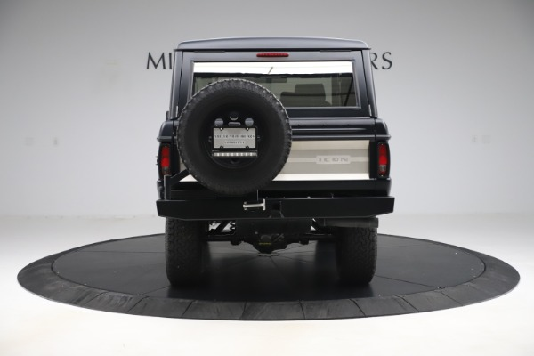 Used 1972 Ford Bronco Icon for sale Sold at Rolls-Royce Motor Cars Greenwich in Greenwich CT 06830 6