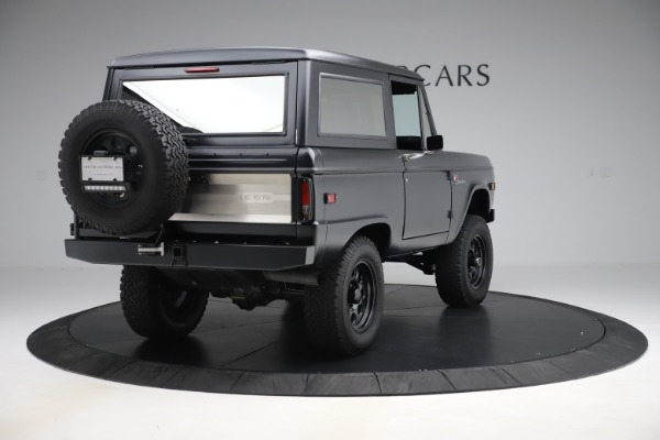 Used 1972 Ford Bronco Icon for sale Sold at Rolls-Royce Motor Cars Greenwich in Greenwich CT 06830 7
