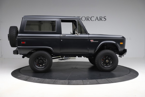 Used 1972 Ford Bronco Icon for sale Sold at Rolls-Royce Motor Cars Greenwich in Greenwich CT 06830 9
