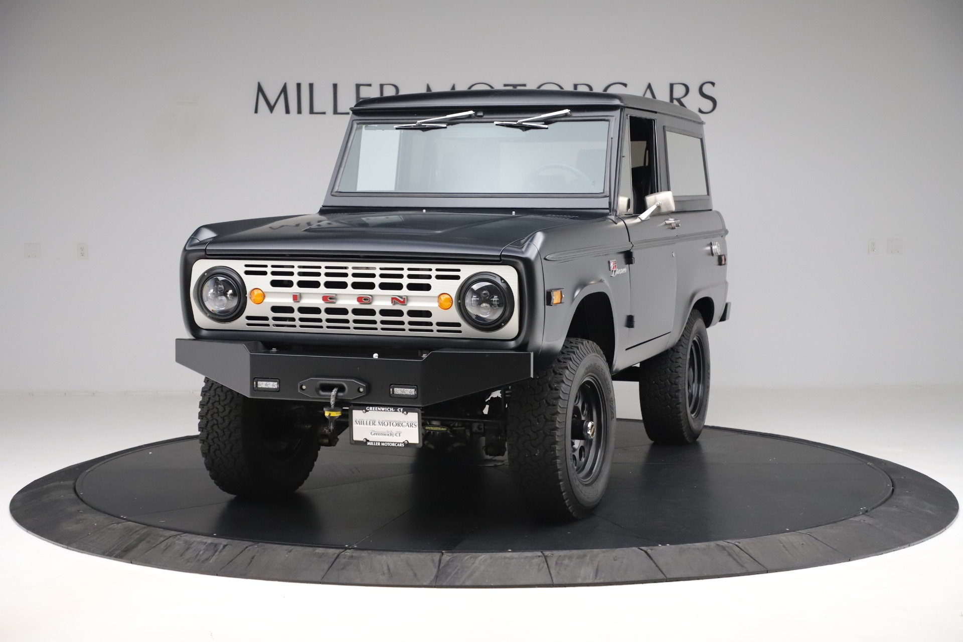 Used 1972 Ford Bronco Icon for sale Sold at Rolls-Royce Motor Cars Greenwich in Greenwich CT 06830 1