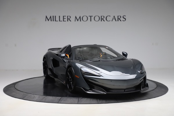 New 2020 McLaren 600LT SPIDER Convertible for sale $309,620 at Rolls-Royce Motor Cars Greenwich in Greenwich CT 06830 10