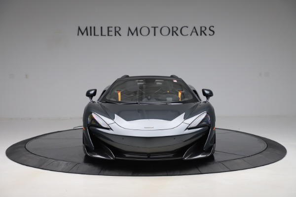 Used 2020 McLaren 600LT SPIDER Convertible for sale $249,900 at Rolls-Royce Motor Cars Greenwich in Greenwich CT 06830 11