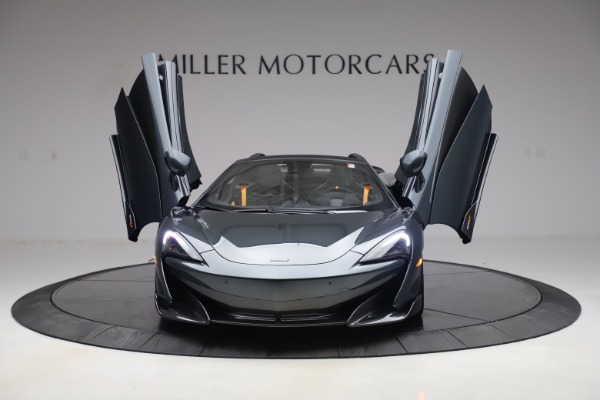 New 2020 McLaren 600LT SPIDER Convertible for sale $309,620 at Rolls-Royce Motor Cars Greenwich in Greenwich CT 06830 12