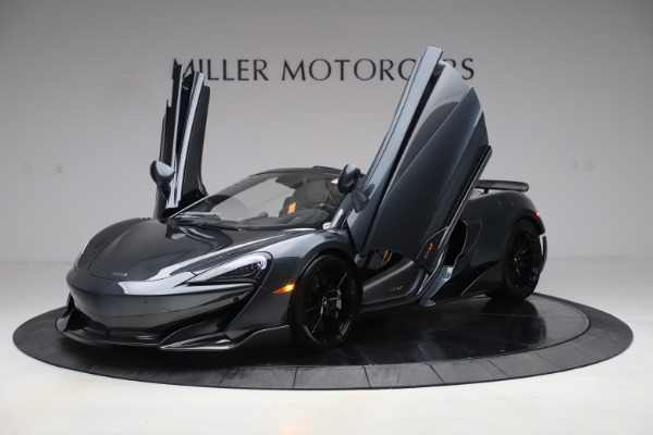 New 2020 McLaren 600LT SPIDER Convertible for sale $309,620 at Rolls-Royce Motor Cars Greenwich in Greenwich CT 06830 13