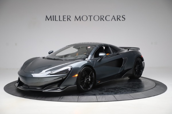 Used 2020 McLaren 600LT SPIDER Convertible for sale $249,900 at Rolls-Royce Motor Cars Greenwich in Greenwich CT 06830 14