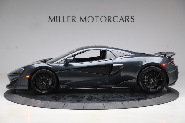 New 2020 McLaren 600LT SPIDER Convertible for sale $309,620 at Rolls-Royce Motor Cars Greenwich in Greenwich CT 06830 15