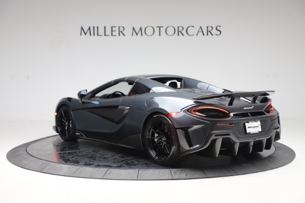 New 2020 McLaren 600LT SPIDER Convertible for sale $309,620 at Rolls-Royce Motor Cars Greenwich in Greenwich CT 06830 16