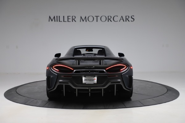 New 2020 McLaren 600LT SPIDER Convertible for sale Sold at Rolls-Royce Motor Cars Greenwich in Greenwich CT 06830 17