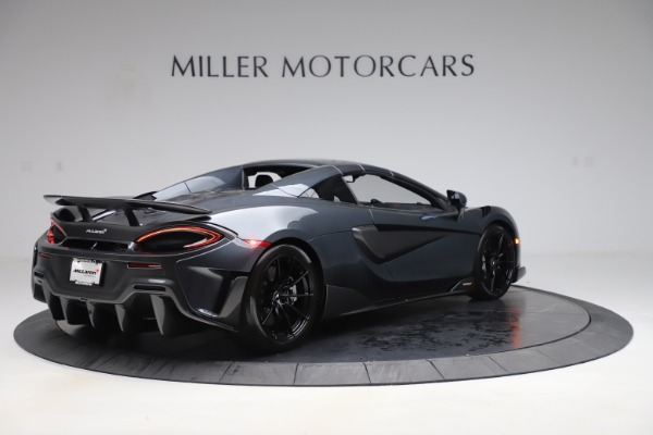 New 2020 McLaren 600LT SPIDER Convertible for sale $309,620 at Rolls-Royce Motor Cars Greenwich in Greenwich CT 06830 18