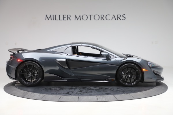 Used 2020 McLaren 600LT SPIDER Convertible for sale $249,900 at Rolls-Royce Motor Cars Greenwich in Greenwich CT 06830 19