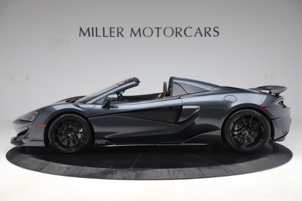 New 2020 McLaren 600LT SPIDER Convertible for sale $309,620 at Rolls-Royce Motor Cars Greenwich in Greenwich CT 06830 2