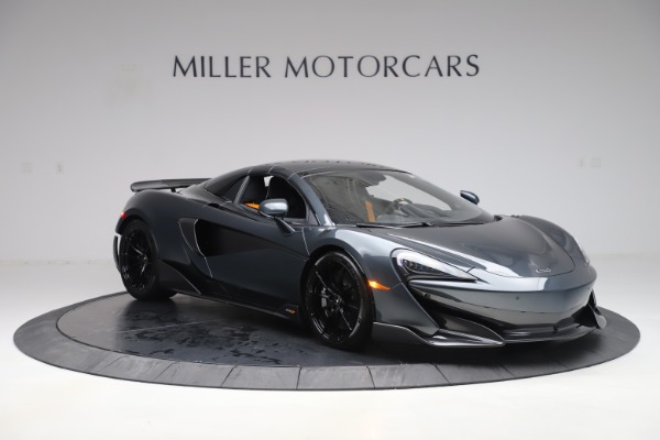 New 2020 McLaren 600LT SPIDER Convertible for sale $309,620 at Rolls-Royce Motor Cars Greenwich in Greenwich CT 06830 20