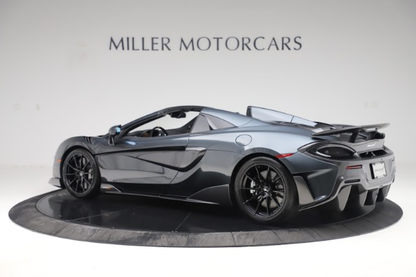 New 2020 McLaren 600LT SPIDER Convertible for sale Sold at Rolls-Royce Motor Cars Greenwich in Greenwich CT 06830 3